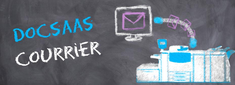 DOCSaaS Courrier - Automatisez la composition, la préparation et l'envoi de vos courriers